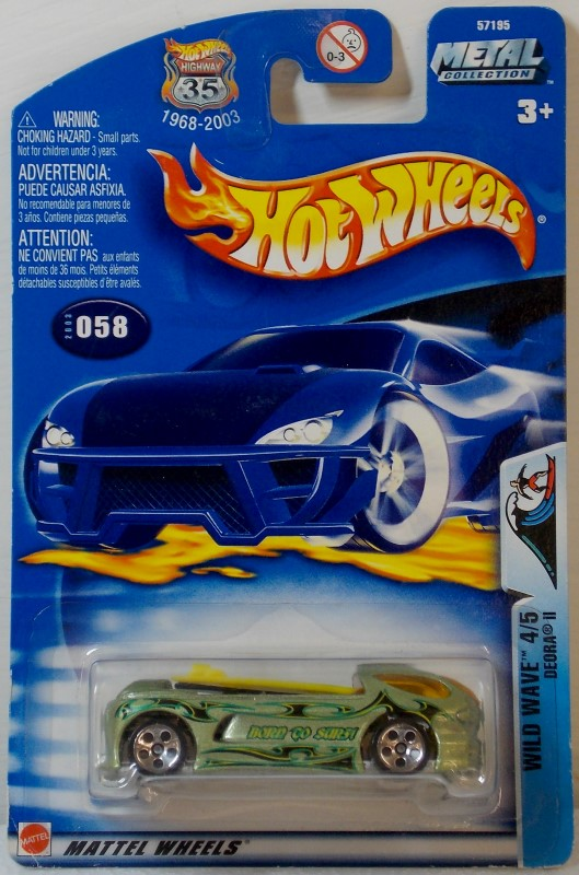 HOT WHEELS: 2003 SERIES, 29 CARS ONLY