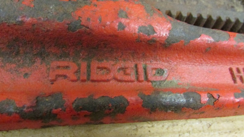 "RIDGID TOOLS Wrench 18"" PIPE WRENCH"