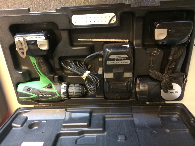 HITACHI Combination Tool Set DS14DSFL/UB18DAL COMBO