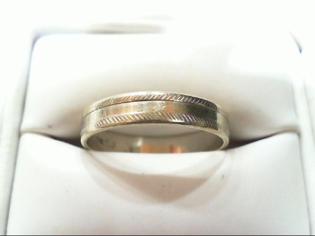 Gent's Gold Ring 18K White Gold 2.7g