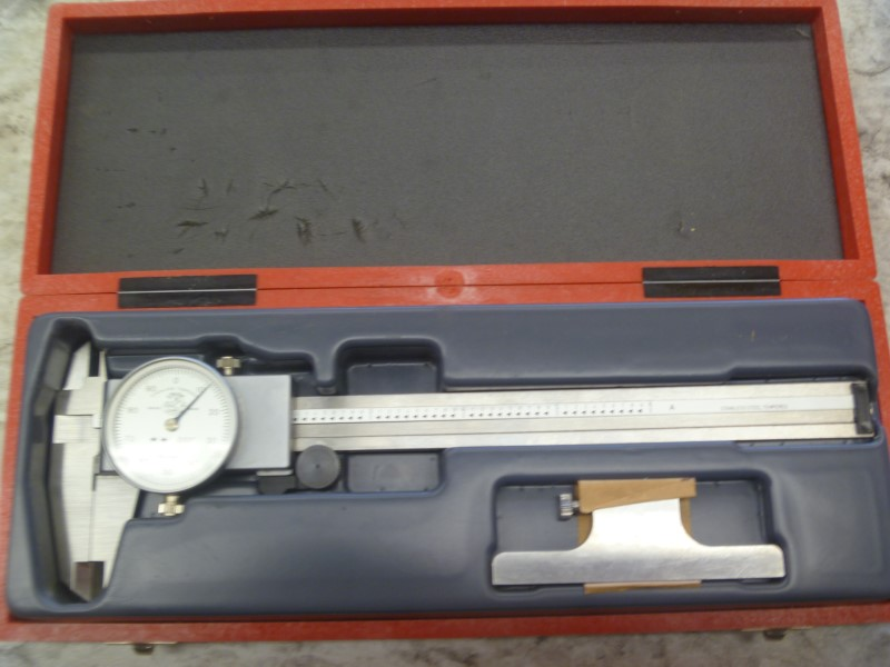 "ETALON MICROMETER 75.115811 - .001"" - 6"" MAX - WITH CASE"