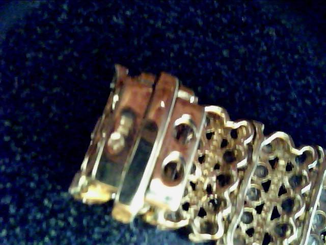 Gold-Diamond Bracelet TENNIS 300 Diamonds 3.00 Carat T.W. 10K Yellow Gold