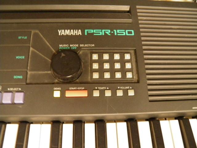 YAMAHA Keyboards/MIDI Equipment PSR-150