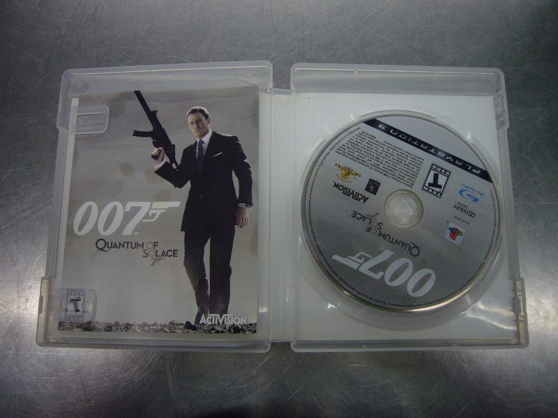 SONY PlayStation 3 Game 007 QUANTUM OF SOLACE