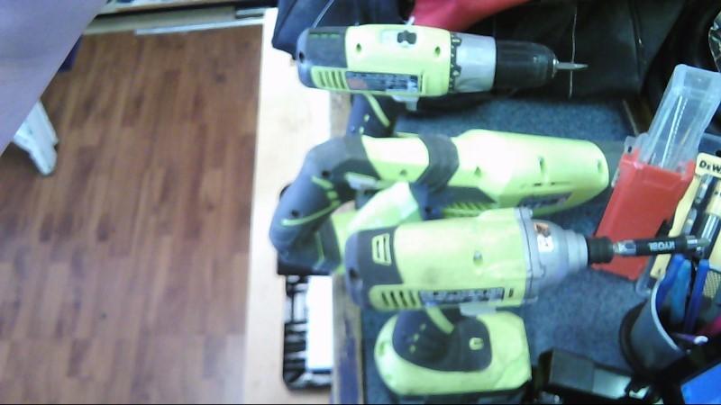 RYOBI Cordless Drill P271/P234G/P514
