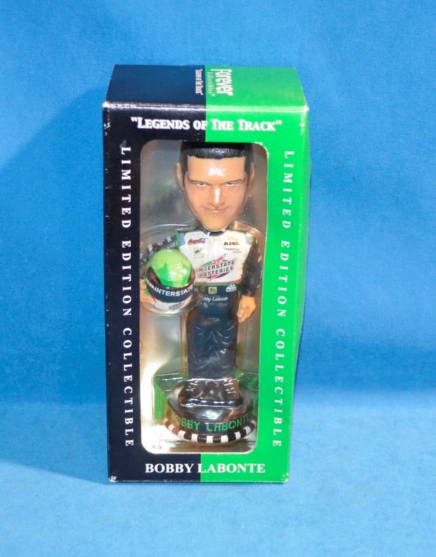 FOREVER COLLECTIBLES LEGENDS OF THE TRACK BOBBY LABONTE FIGURINE
