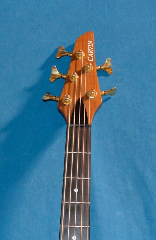 CARVIN Bass Guitar WALNUT 5 STRING BASS