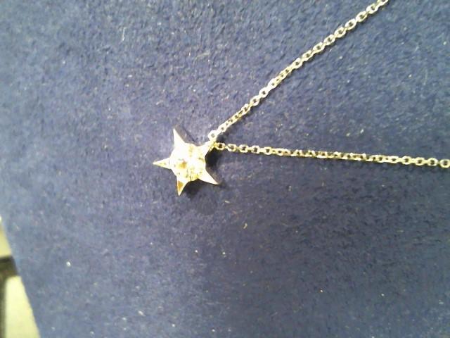 Gold Chain 18K White Gold 1.6g