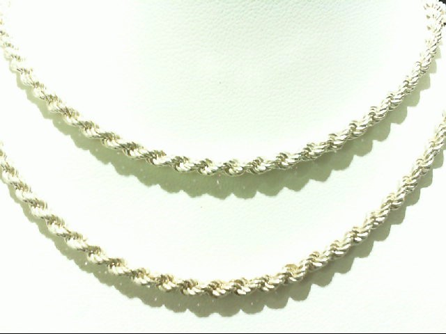 Silver Rope Chain 925 Silver 19.6g