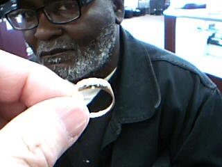 Lady's Diamond Fashion Ring 3 Diamonds .03 Carat T.W. 14K Yellow Gold 1.9g