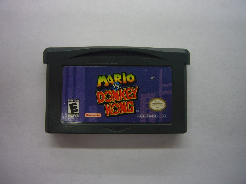 NINTENDO GBA Game MARIO VS DONKEY KONG *CARTRIDGE ONLY*