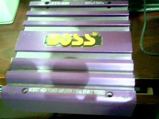 BOSS Car Amplifier AVA-450