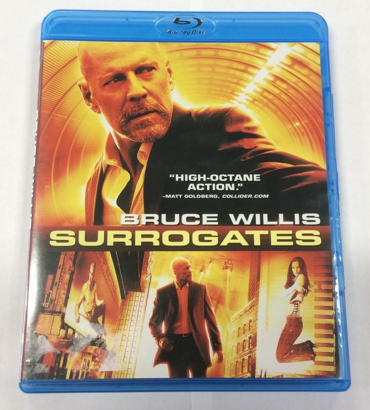 SURROGATES, BRUCE WILLIS BLU-RAY DVD MOVIE