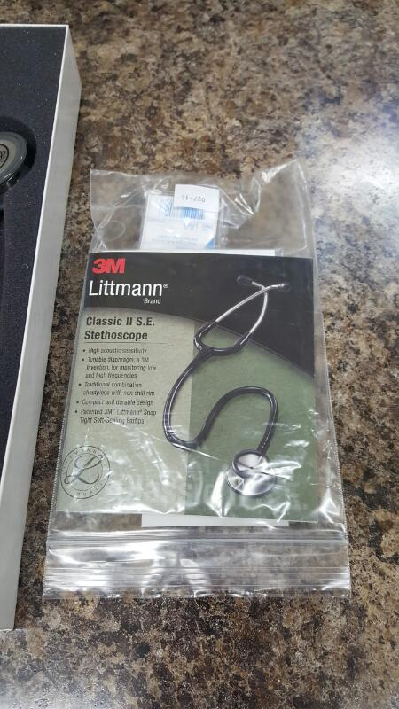 3M Littmann Classic II SE Stethoscope 28 inch Pearl Pink