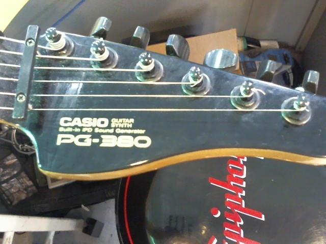CASIO Electric Guitar PG-380