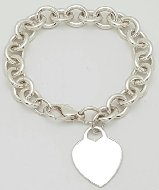 Silver Fashion Bracelet 925 Silver 32.5g