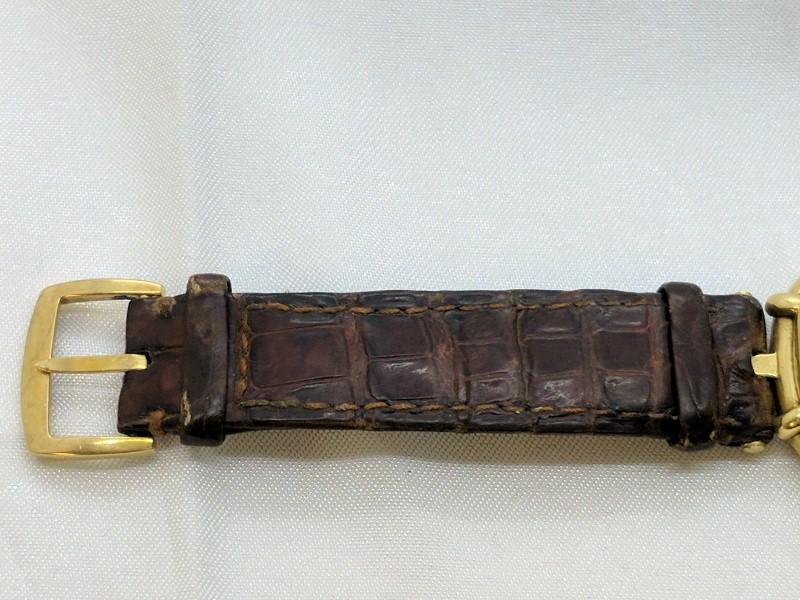 18KYG GERALD GENTA Gent's Wristwatch 44207