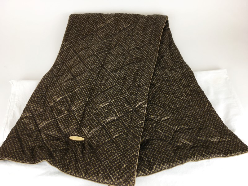 LOUIS VUITTON ECHARPE IGLOO MARRON SCARF