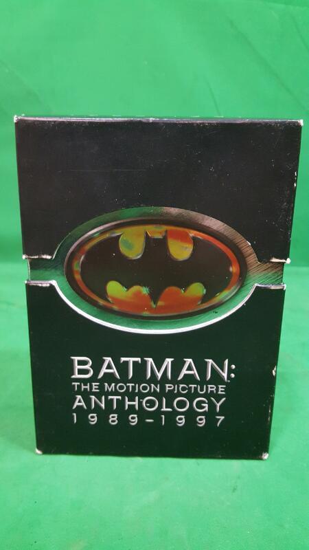 Batman: The Motion Picture Anthology 1989-1997 (DVD, 2005, 8-Disc Set)