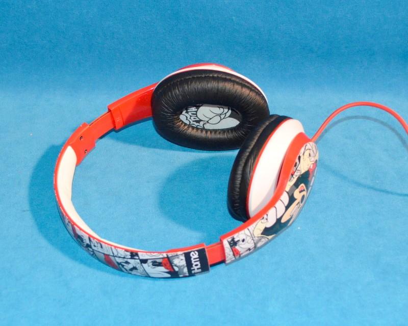 IHOME DISNEY MICKEY MOUSE HEADPHONES OVER THE EAR HEADBAND STYLE