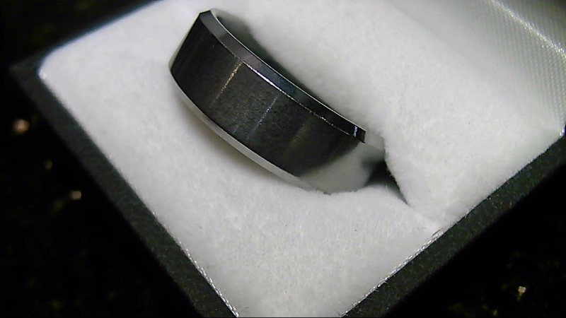 Tungsten Silver Wedding Band 16.2G SZ 11