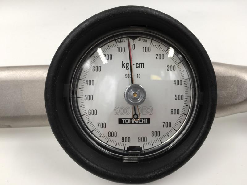 "TOHNICHI 1/2"" 900 DB3 900-10 KGF-CM DIAL TORQUE WRENCH"