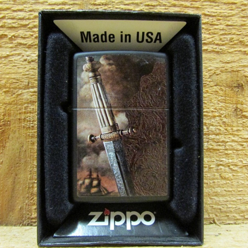 ZIPPO Lighter 28305 SWORD OF WAR