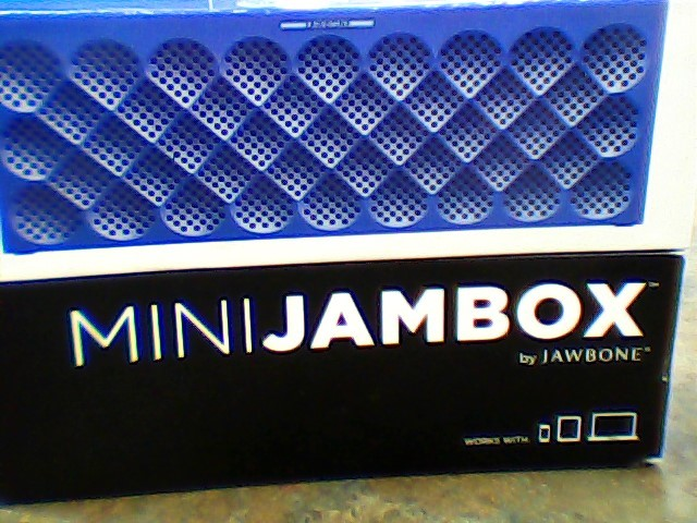 JAWBONE Speakers MINI JAMBOX WIRELESS BLUETOOTH - BLUE DIAMOND