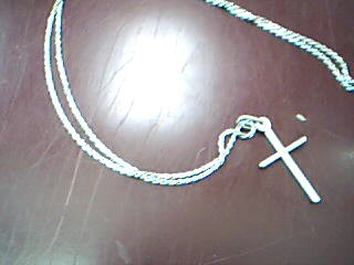 "22"" Gold Chain 14K White Gold 5.5g"