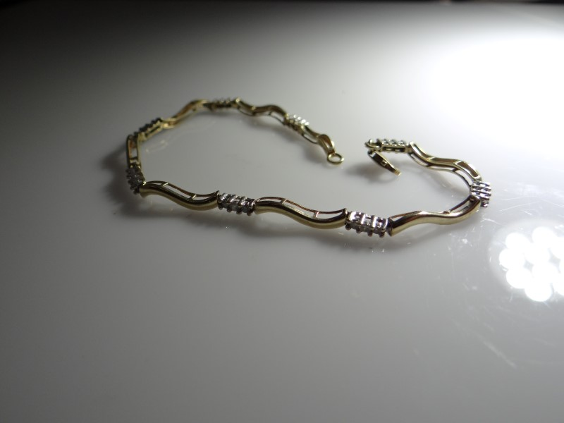Gold Bracelet 10K Yellow Gold 4.51g
