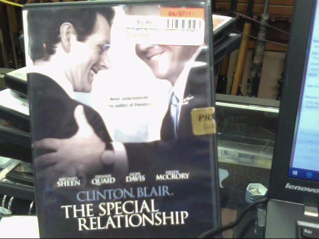 The Special Relationship dvd