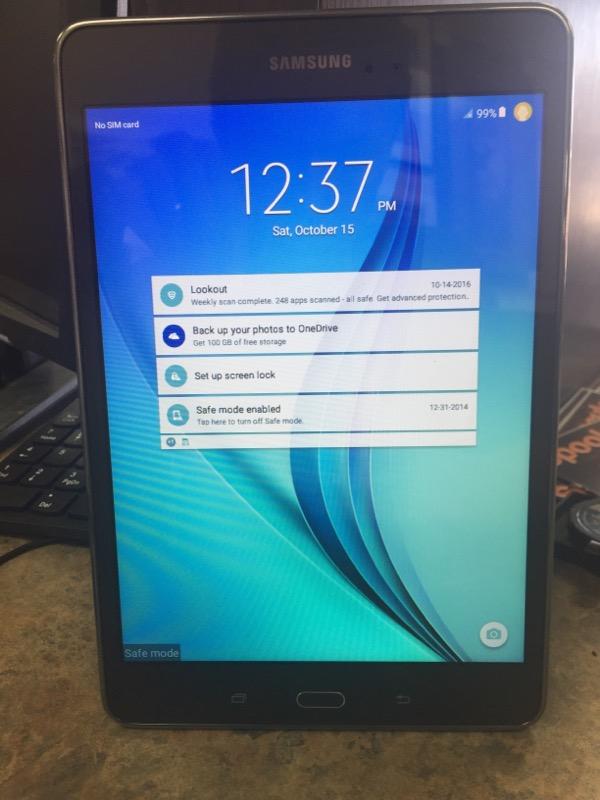 SAMSUNG Tablet SM-T357T