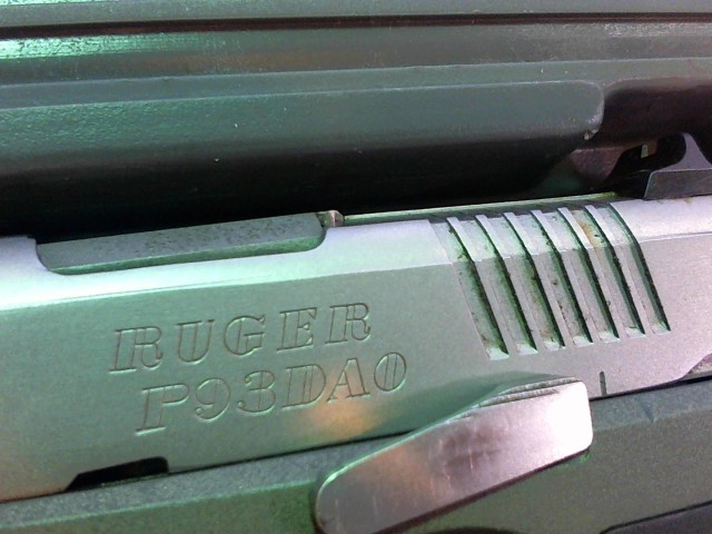 RUGER Pistol P-93