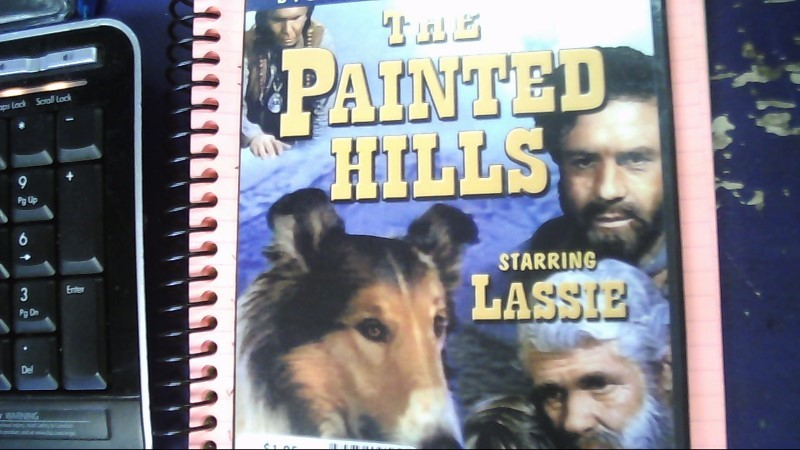 THE PAINTED HILLS STARRING LASSIE DVD MOVIE