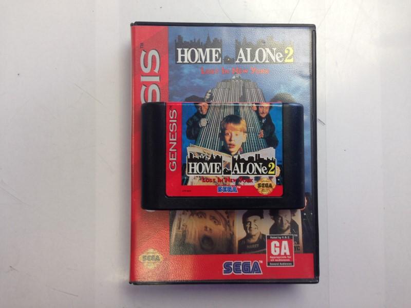 Home Alone 2: Lost in New York (Sega Genesis, 1993)