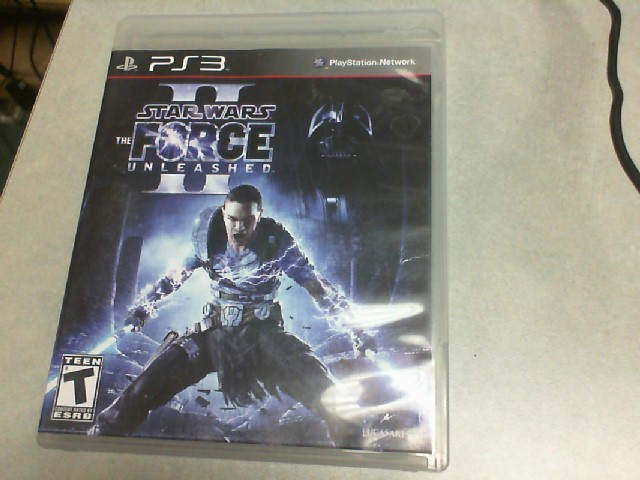 SONY Sony PlayStation 3 Game STAR WARS THE FORCE UNLEASHED - PS3