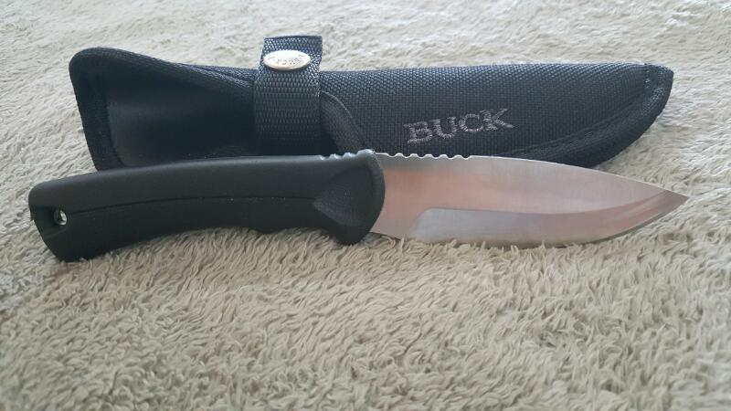 BUCK KNIVES Hunting Knife 673C