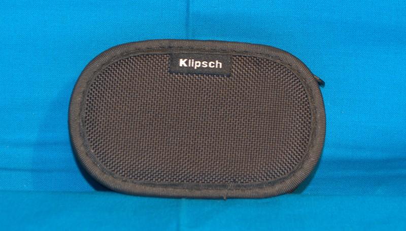 KLIPSCH EARBUDS Black & Gray w/Case