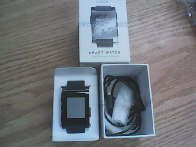 PEBBLE SMART WATCH Gent's Wristwatch 301BL