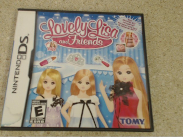 LOVELY LISA AND FRIENDS - DS GAME