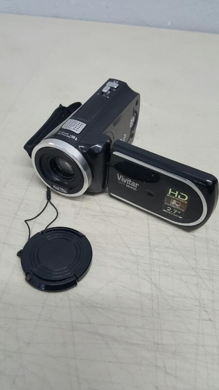 Vivitar DVR960HD Camcorder - Black
