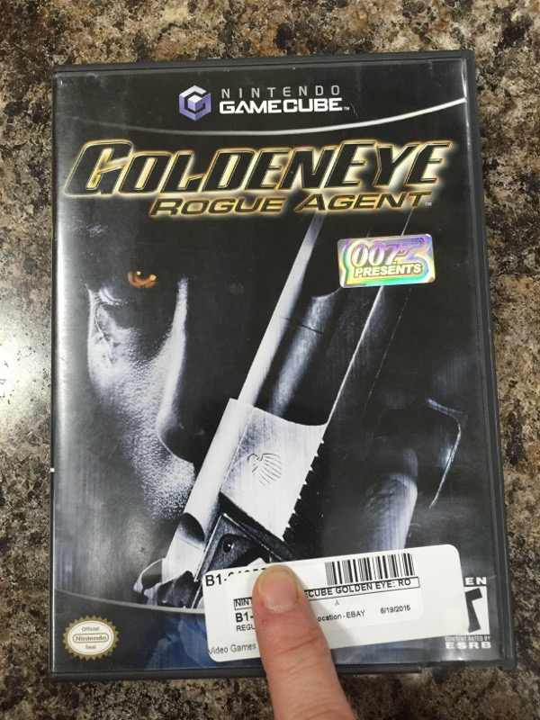 NINTENDO Nintendo GameCube Game GOLDEN EYE: ROGUE AGENT GAMECUBE (2004)