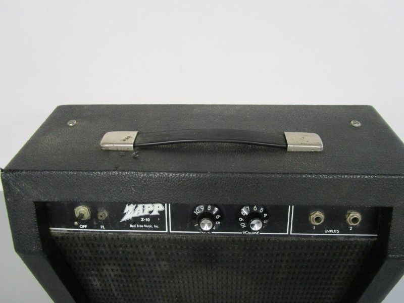 ZAPP Z-10 SOLID STATE GUITAR AMPLIFIER, INCREDIBLY RARE