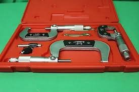 MHC 3-PC OUTSIDE MICROMETER SET