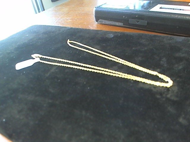 Gold Chain 14K Yellow Gold 4.7g