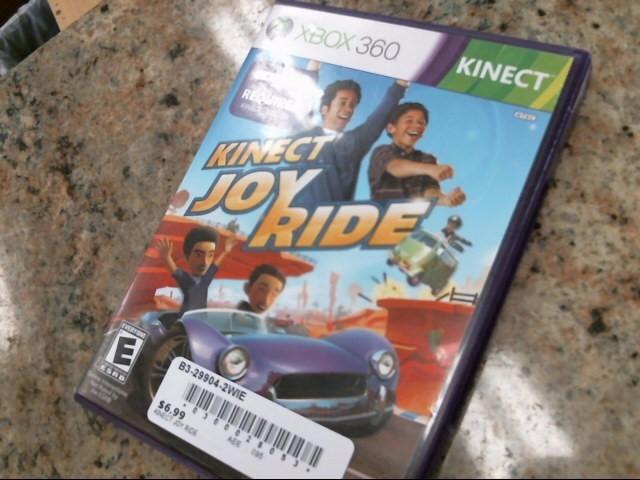 MICROSOFT Microsoft XBOX 360 Game KINECT JOY RIDE