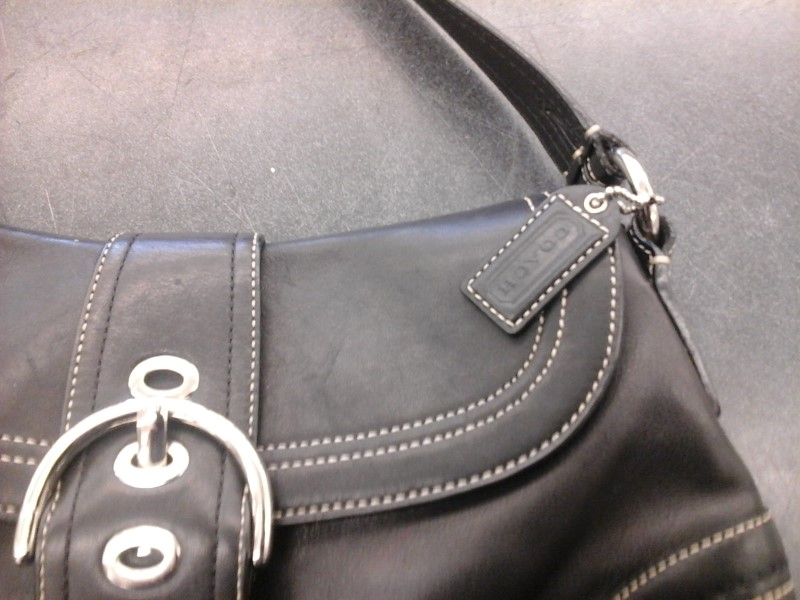 COACH Handbag 9248 SOHO BLACK PURSE