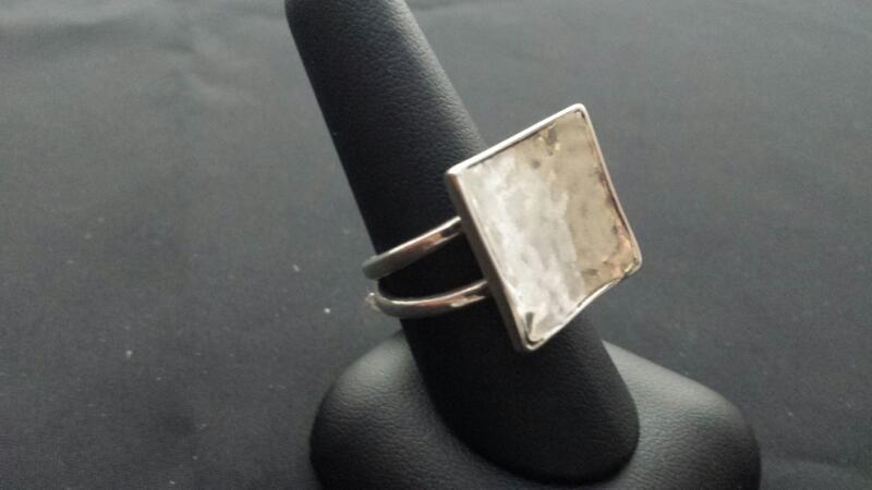 Silpada Square Lady's Silver Ring 925 Silver