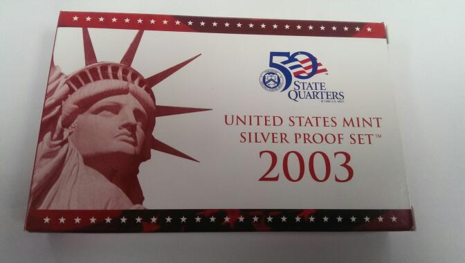 UNITED STATES 2003 SILVER PROOF SET