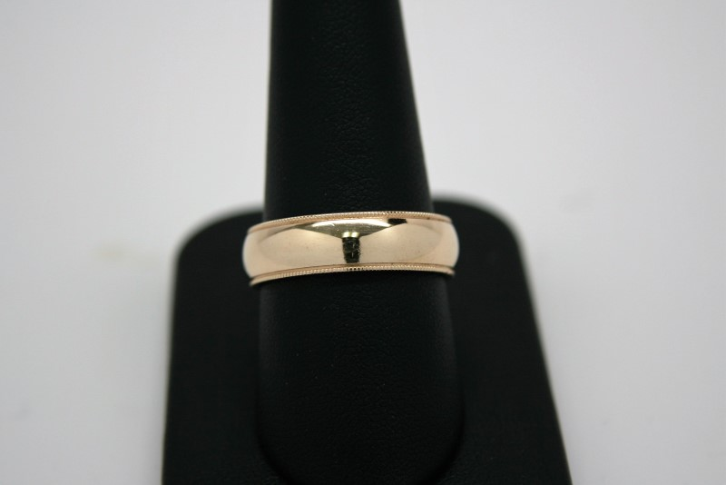 GENT'S GOLD BAND 14K YELLOW GOLD
